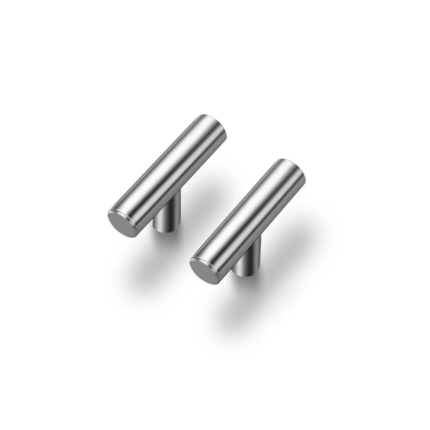 "30 Pack |2'' Cabinet Pulls Brushed Nickel Stainless Steel Kitchen Cupboard Handles Cabinet Handles 2""Length, 30-Pack"