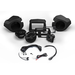 STEREO AND FRONT SPEAKER KIT FOR SELECT POLARIS RZR MODELS RZR14-STAGE2