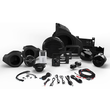 400 WATT STEREO, FRONT AND REAR SPEAKER, AND SUBWOOFER KIT FOR SELECT POLARIS RZR MODELS RZR14-STAGE4