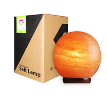 Load image into Gallery viewer,  Himalayan Salt Lamp Globe