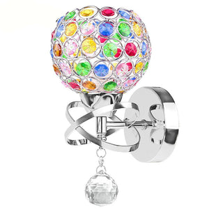 Crystal Pendant Wall Lamp  the story book the outback18