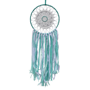 Green String Lace Dream Catcher
