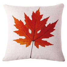 Modern Minimalist Cotton Leaf Pillowcase  the story book the outback18