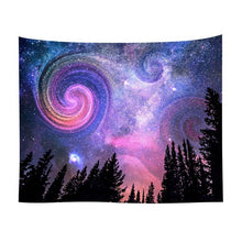 Tapestry Forest Night Sky