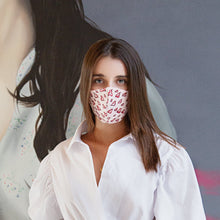 Load image into Gallery viewer, MONICA ARGUEDAS FACEMASK PINK LIPS PRINT