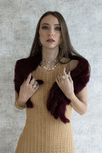 Load image into Gallery viewer, GOLD KNITTED DRESS