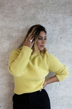 Load image into Gallery viewer, CANARY YELLOW SWEATER
