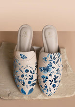 Load image into Gallery viewer, ALEPEL DENIM BUTTERFLY MULES PRE-ORDER