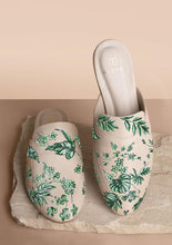 Load image into Gallery viewer, ALEPEL EMERALD JUNGLE MULES PRE-ORDER