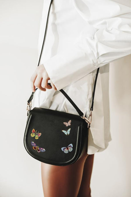 ALEPEL CROSSBODY BUTTERFLIES BAG PRE-ORDER