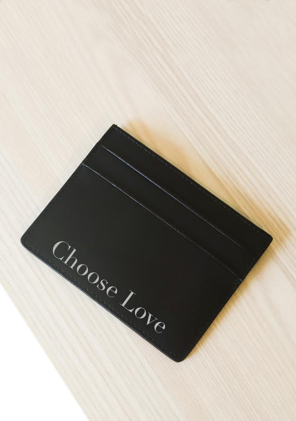 ALEPEL CHOOSE LOVE CARDHOLDER PRE-ORDER