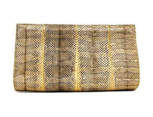 Load image into Gallery viewer, XIMENA KAVALEKAS IVY WATERSNAKE CLUTCH