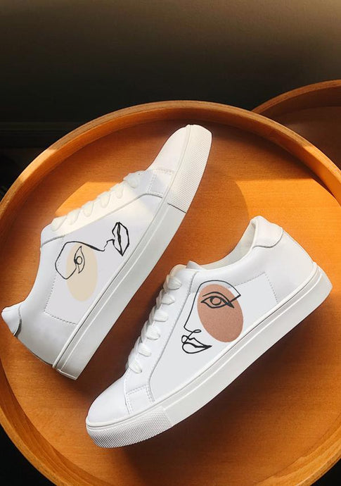 ALEPEL TWINS WHITE SNEAKERS PRE-ORDER