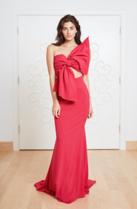 LASO FUCHSIA DRESS