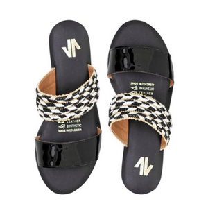 CONGA LACE UP SANDALS