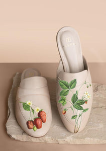 ALEPEL STRAWBERRY FIELDS MULES PRE-ORDER