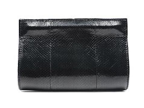 XIMENA KAVALEKAS IVY - SMALL BLACK WATERSNAKE CLUTCH