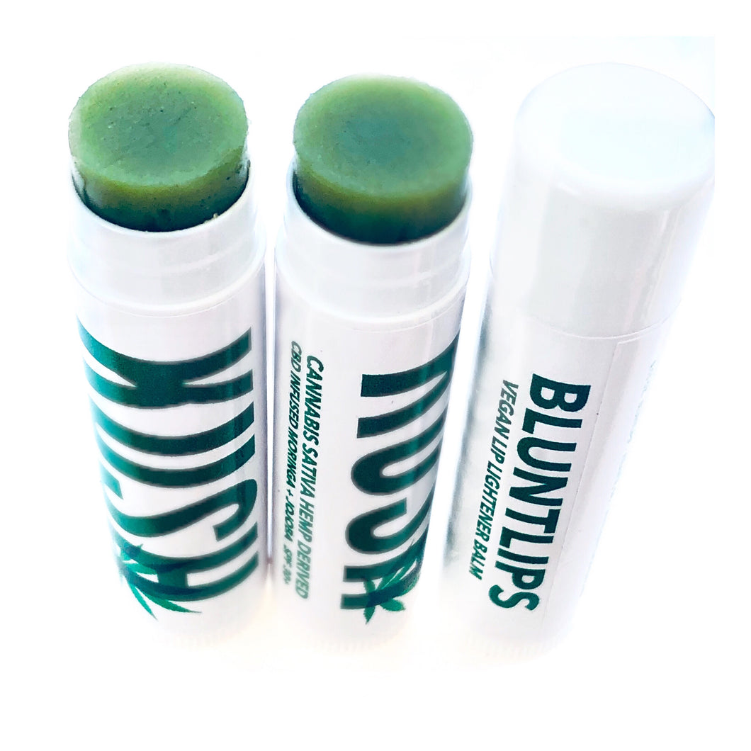 Mint Lip Lightener Moisturizer Balm (Two for $12)