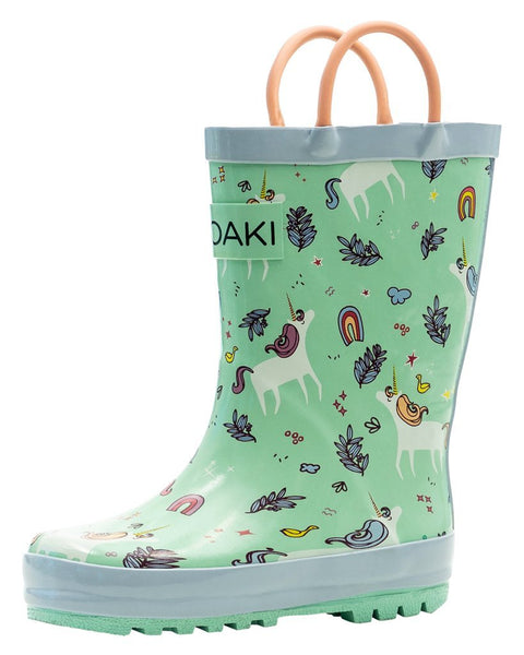 Oaki - Loop Handle Boots, Snooty Unicorn