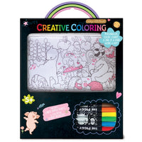 Creative Coloring: Carry All Pouch