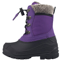 Oaki - Snow Boots, Plum Purple Lace Up