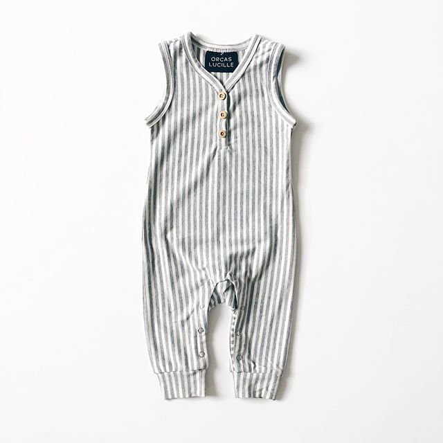 Sleeveless Henley Romper