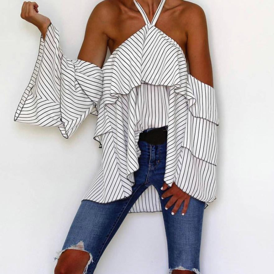New Arrival Off Shoulder Blouse
