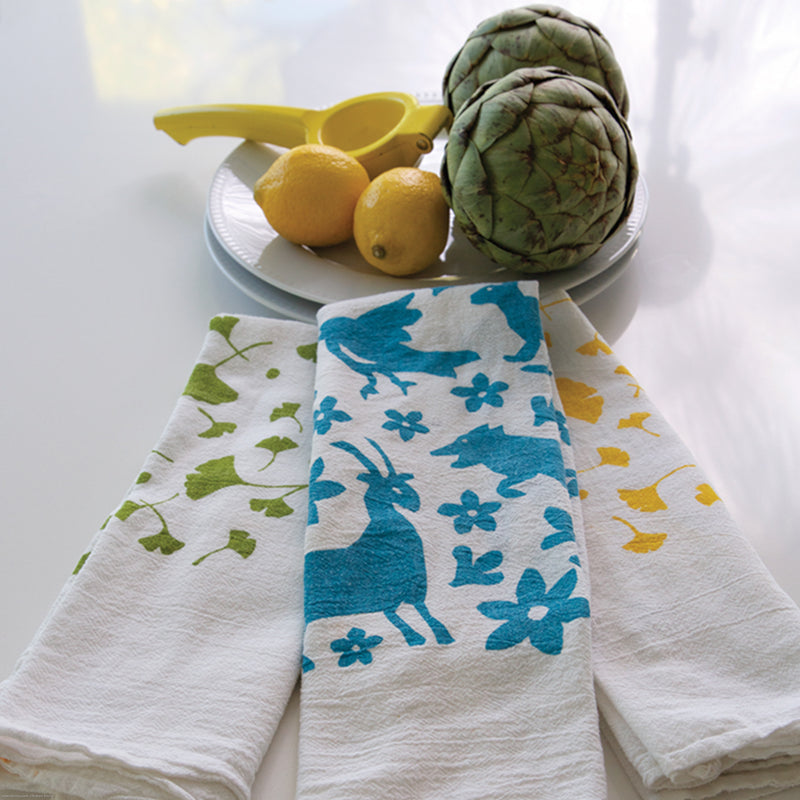 Kei and Molly Textiles, LLC. Hand-printed dish towels. 100% cotton natural screen-printed tea towels, textiles, and home goods. Albuquerque, New Mexico. Made in USA. Colorado Homes 2018