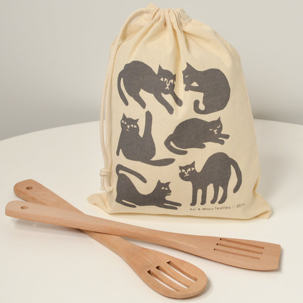 Reusable Cloth Bag: Cats