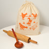 Reusable Cloth Bag: Chickens