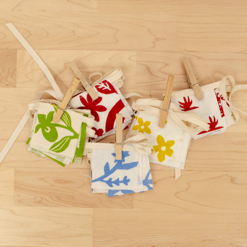 Kei & Molly Mini Pennants in Variety of Colors and Patterns