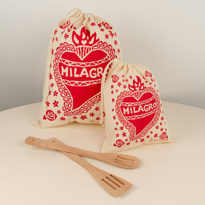 Reusable Cloth Bag Set: Milagro