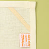 Kei & Molly Linen/Cotton Tea Towel Label Detail