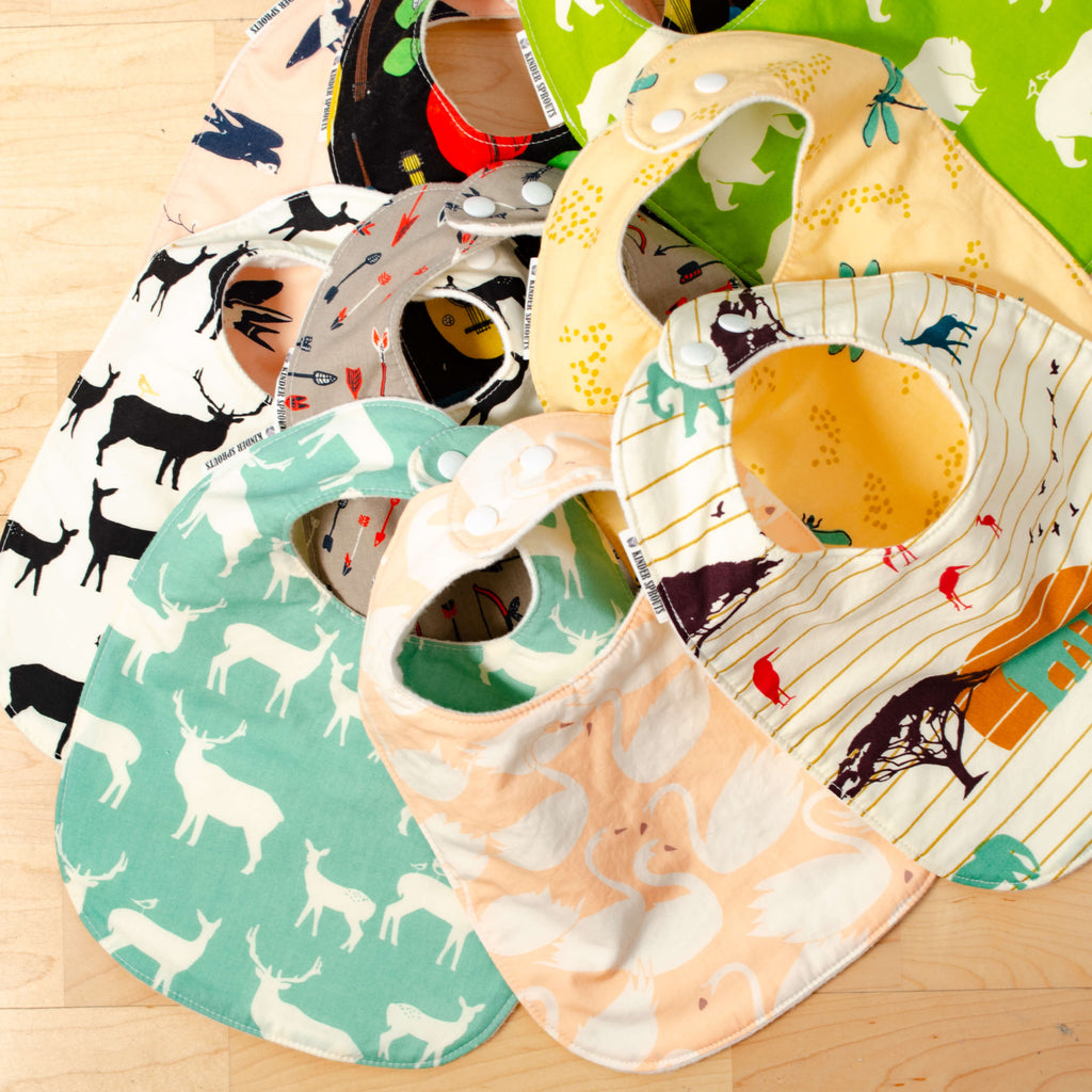Kinder Sprout Bibs