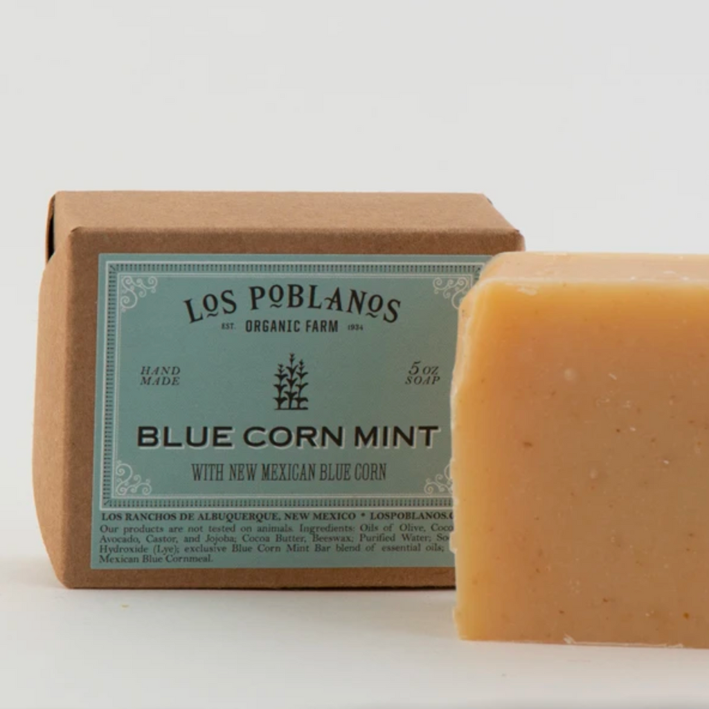 Los Poblanos Bule Corn Mint Bar Soap