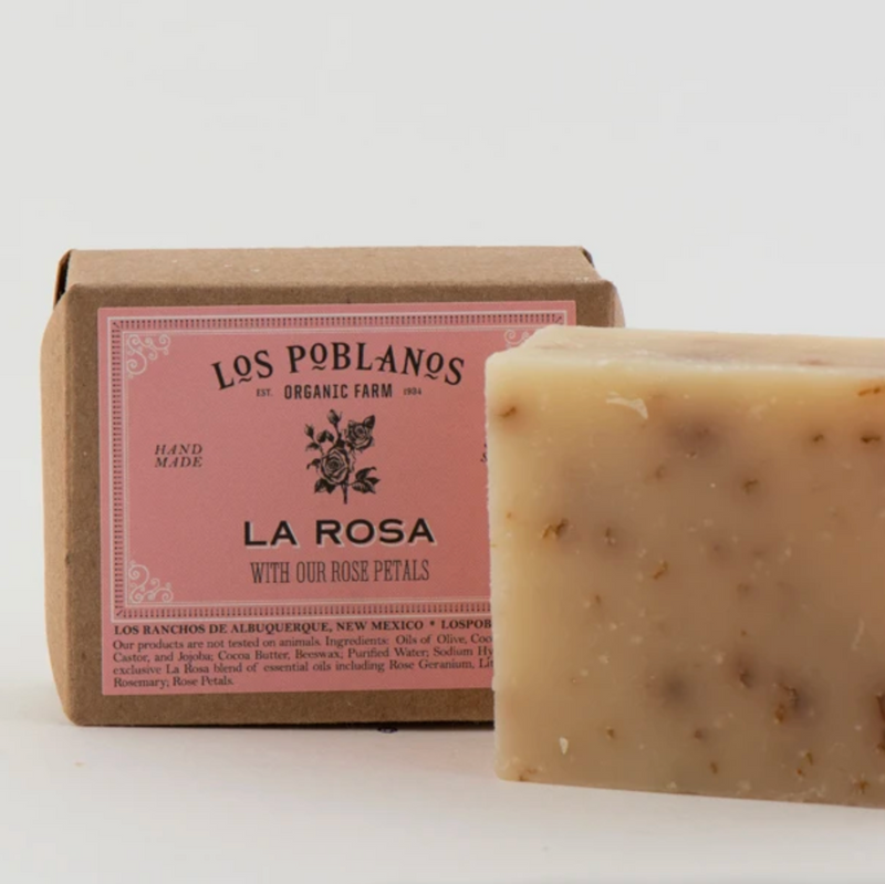 Los Poblanos La Rosa Bar Soap