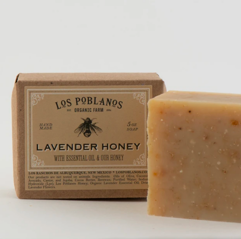 Los Poblanos Lavender Honey Bar Soap