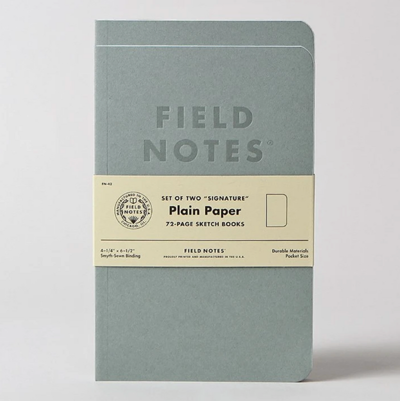 Signature Series: Plain Paper
