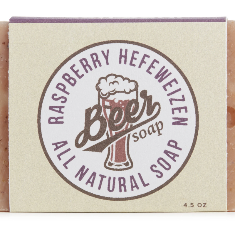 Raspberry Hefeweizen Soap