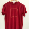 T-shirt: NM State Outline