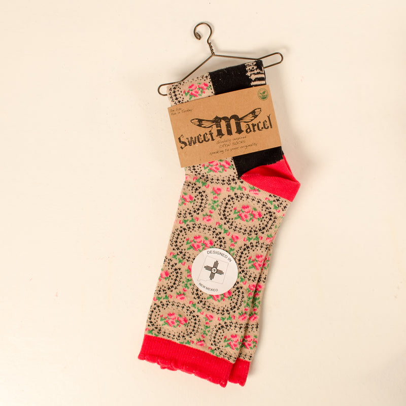 Sweet Marcel - Women's Crew Socks