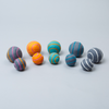 Striped Boiled Wool Ball: Small