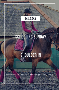 Schooling Sunday - Shoulder In