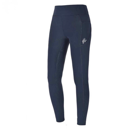 Kingsland Katinka full seat leggings (Winter lined) - Navy