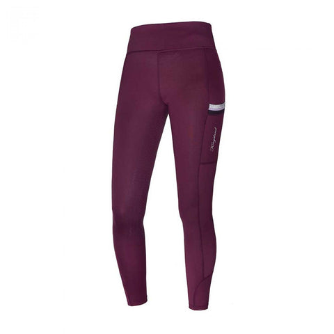 Kingsland Karina FTech Full Seat riding Leggings - Summer - Red Fudge