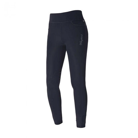 Kingsland Katinka full seat leggings (Summer weight) - Navy