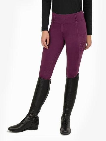 Ps of Sweden - Mathilde riding tights - Plum
