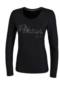 Pikeur Isy - Long Sleeve T Shirt - Black