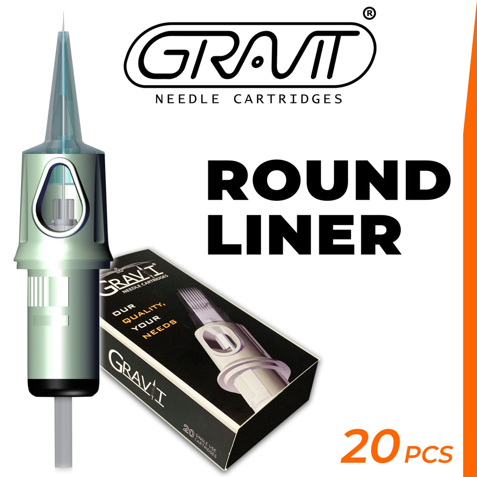 Round Liner | Gravit Needle Cartridges