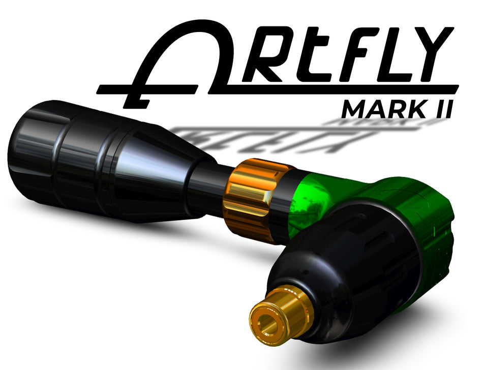 Mark 2 | Artfly Rotary Machine (USA) MARK 2 - Emerald Green